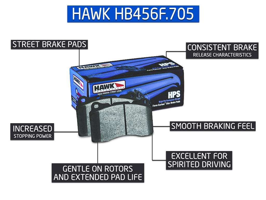 Hawk Performance HB456F.705