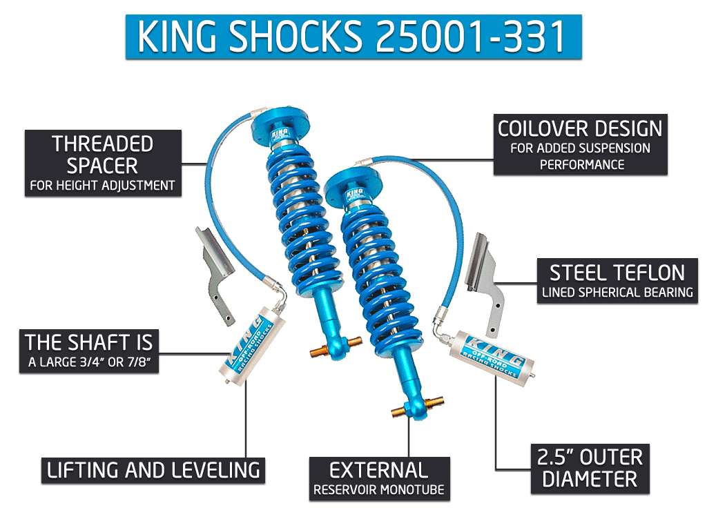 King Shocks 25001-331